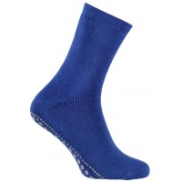 Antislip Huissokken Jeans Blauw 27-30