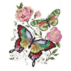 Vlinders en rozen
