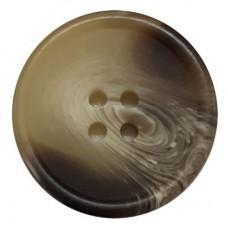 Knoop Bruin 25 mm per stuk