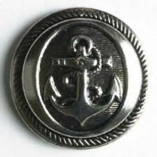 Knoop Anker Zilver 21mm
