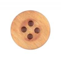 Houten knoop 18 mm