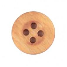 Houten knoop 25 mm