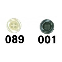 Knoop 12mm 4-gaats - Kies een kleur