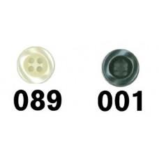 Knoop 9mm 4-gaats - Kies een kleur