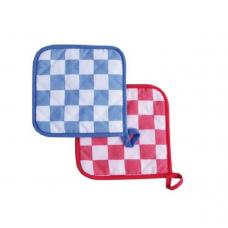 Pannenlap Ruit - In rood of blauw