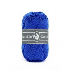 Glanskatoen Koningsblauw