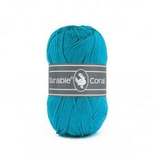 Glanskatoen Turquoise