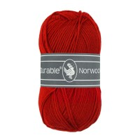 Norwool Rood 10 bollen Voordeelpak