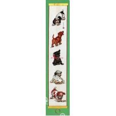 Borduurpakket Schellekoord Honden