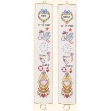 Borduurpakket Schellekoord Geboorte III