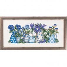 Stilleven van bloemen en planten