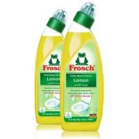 Frosch duurzame toiletreiniger lemon 2 flessen