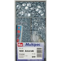 Drukknopen anorak 15mm multipack