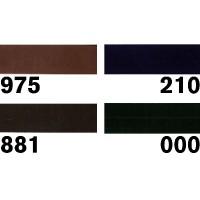 Biaisband suedine - Kies een kleur
