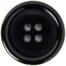 Grote Knoop Zwart 34mm OP=OP