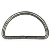D-Ringen Oud Zilver per stuk