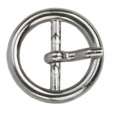 Gesp Rond 20mm Zilverkleurig