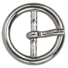 Gesp Rond 25mm Zilverkleurig