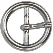 Gesp Rond 30mm Zilverkleurig