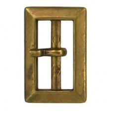 Gesp Rechthoek 20mm Bronskleurig