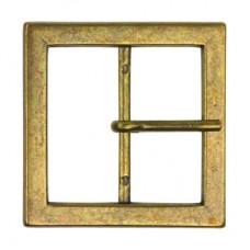 Gesp Rechthoek 30mm Bronskleurig