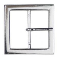 Gesp Rechthoek 40mm Zilverkleurig