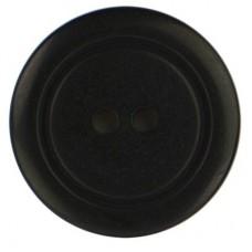 Knoop Zwart 23mm 2-gaats