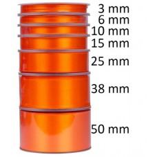 Oranje Satijnlint  - Kies een breedte