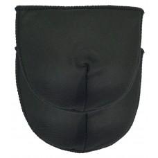 Schoudervulling voor boothals - Zwart