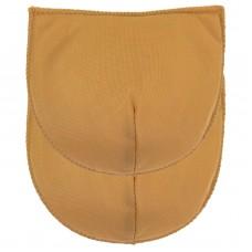 Schoudervulling voor boothals - Huidskleur