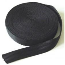 Tassenband 20 mm Zwart