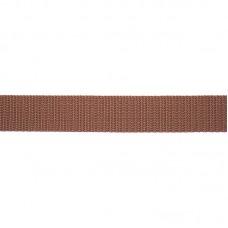 Tassenband 25 mm Bruin
