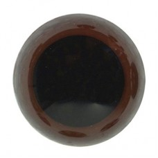Veiligheidsoogjes 15 mm Bruin per stuk