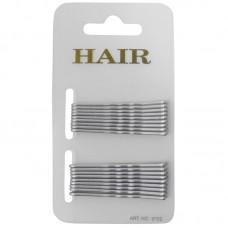 Haarschuifje 5cm Zilver