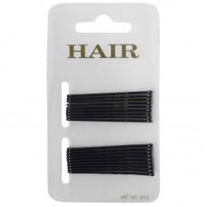 Haarschuifje 5cm Zwart