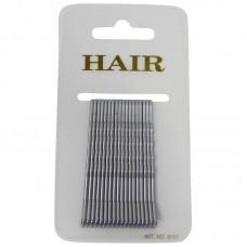 Haarschuifje 6cm Zilver