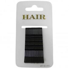 Haarschuifje 6cm Zwart