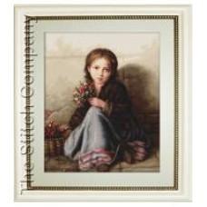 Borduurpakket Portrait of Girl