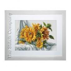 Borduurpakket Sunflowers