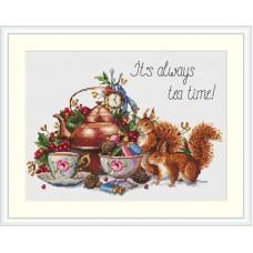 Borduurpakket Always tea time
