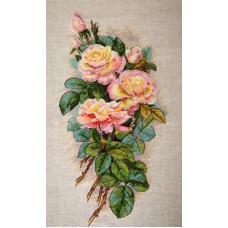 Borduurpakket Roses