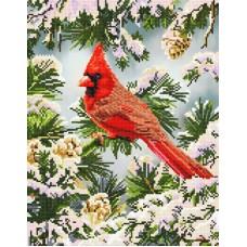 Diamond Painting kit Good Fortune Cardinal