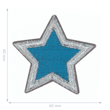 Applicatie Ster Blauw