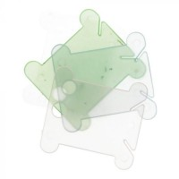 Borduurgaren bewaren: Wikkelkaartjes Plastic 100st
