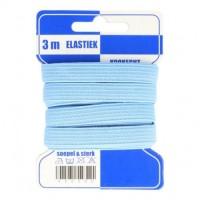 Color Elastiek 10mm Babyblauw