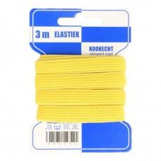 Color Elastiek 10mm Geel