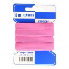 Color Elastiek 10mm PINK