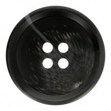 Grote Knoop Zwart 30mm