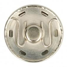 Reuze drukknoop - Manteldrukker 34m Zilver OP=OP