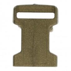 Mini Klikgesp 16mm Brons